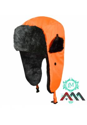 Флуоресцентная зимняя шапка FLASH ORANGE