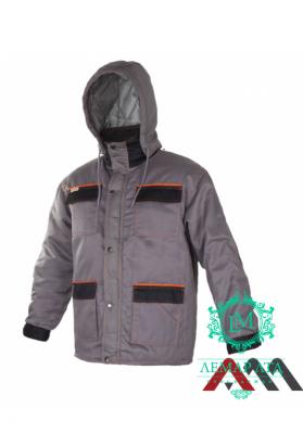 Куртка утепленная ART.MASTER GREY/BLACK OC