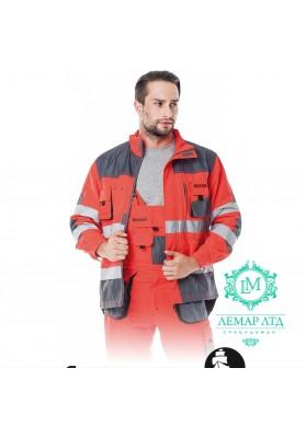 Куртка защитная сигнальная LEBER & HOLLMAN Formen LH-FMNX-J