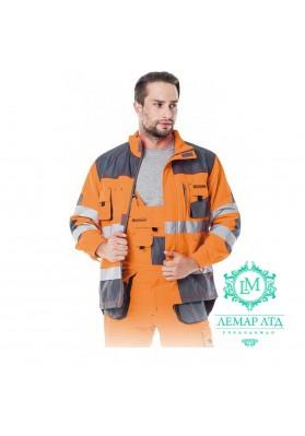 Куртка защитная сигнальная LEBER & HOLLMAN Formen LH-FMNX-J PGS