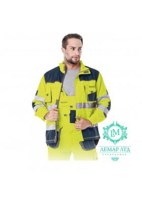 Куртка защитная сигнальная LEBER & HOLLMAN Formen LH-FMNX-J YGS