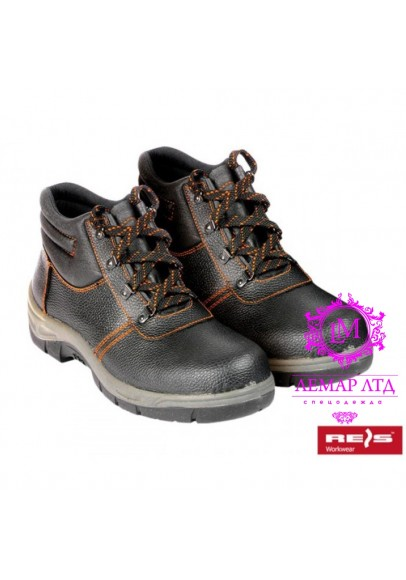 Рабочие ботинки кожаные без метноска BROPTIREIS