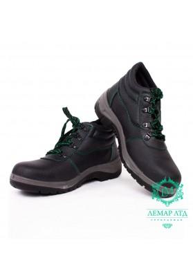 Рабочие ботинки кожаные с метноском BRREIS