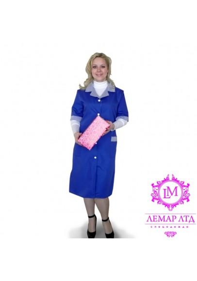 Халаты рабочие женские модельные