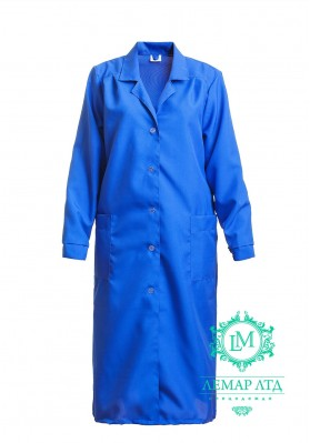 Халат рабочий женский (ткань габардин)