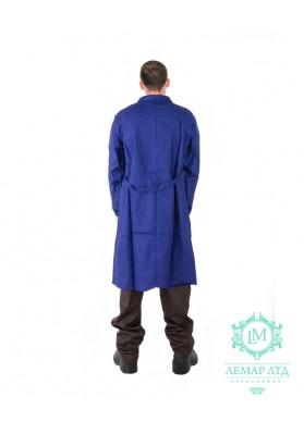 Халат рабочий мужской (ткань диагональ)