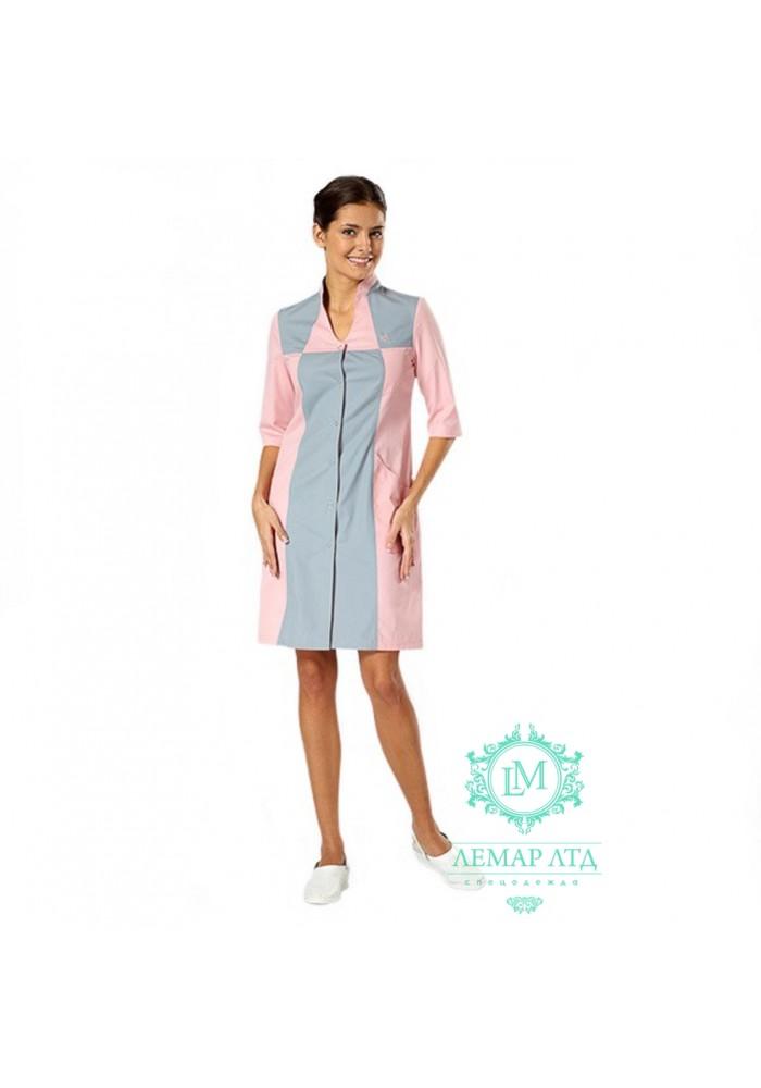 6b18ec51c59da Халаты рабочие женские модельные купить в интернет-магазине Лемар ЛТД
