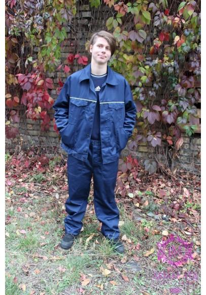Костюм рабочий модельный (куртка и брюки) ткань саржа
