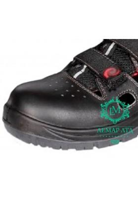 Рабочие сандалии Malta кожаные с защитным носком