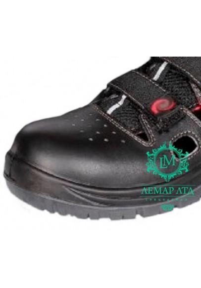 Рабочие сандалии кожаные с защитным носком