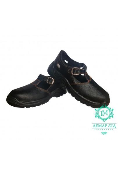 Рабочие сандалии кожаные ПУП с метноском