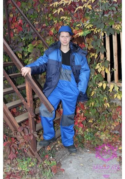 Куртка рабочая утепленная Аляска с капюшоном