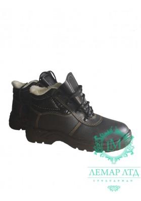Ботинки рабочие ПУП утепленные с метноском
