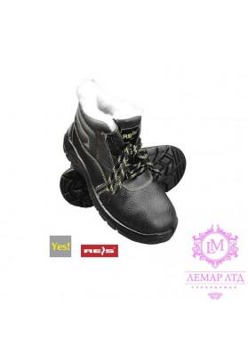 Рабочие утепленные ботинки с метпластиной BRYES-TO-S3